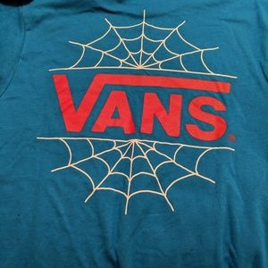 Vans marvel boys spiderman tshirt